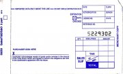 Box of 4000 Imprint Sales Slips 3 copy Short 3-part-compact