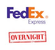 FedEx Overnight Upgraded Shipping