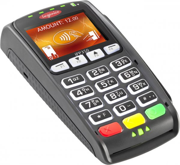 iPP350 Color PINPad EMV SCR Contactless NFC ApplePay Android - Click Image to Close